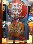 Been Bad this Year? Ask for the Promo!