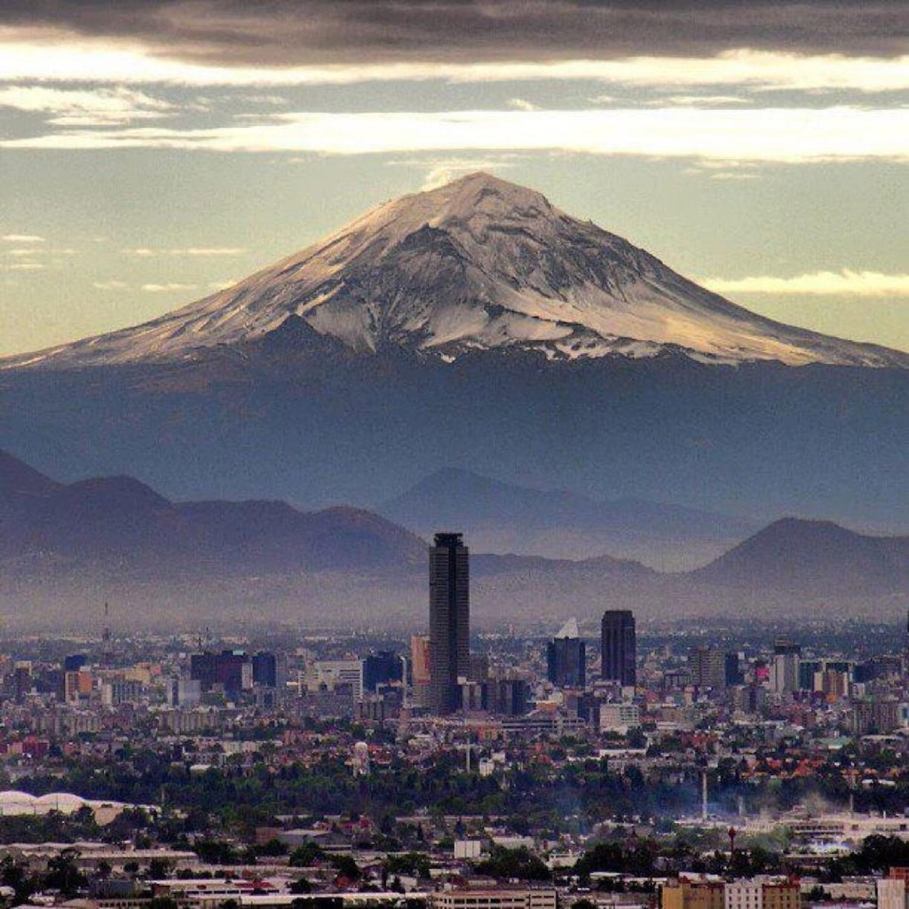 Popocatepetl, Mexico's City View.