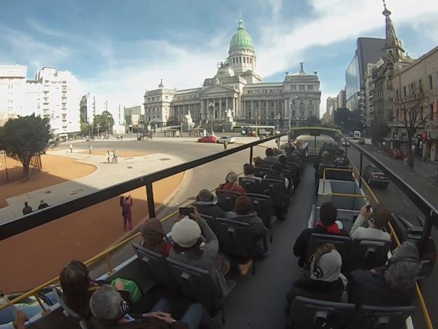 Bus Ride Buenos Aires