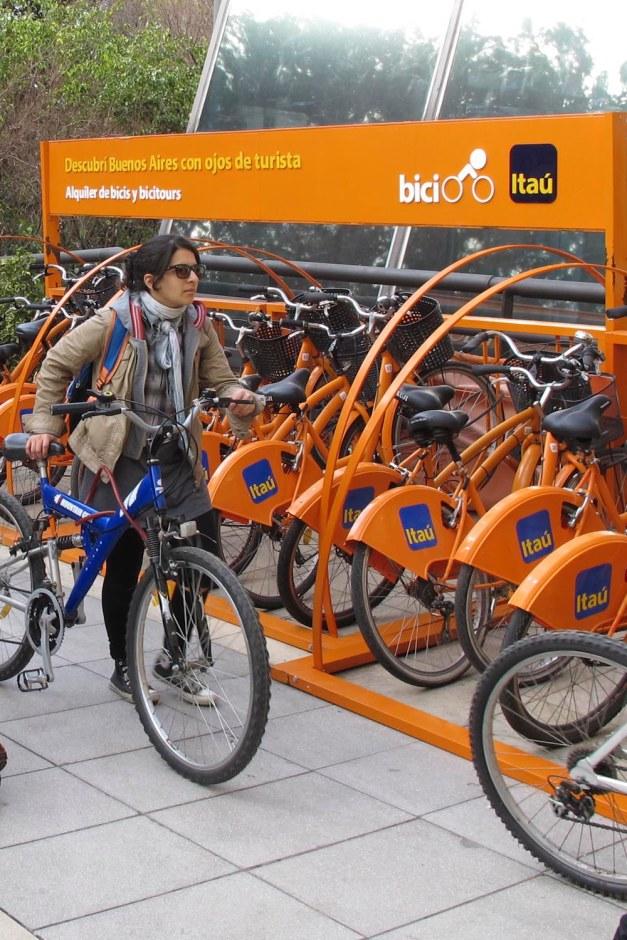 itau bikes rental
