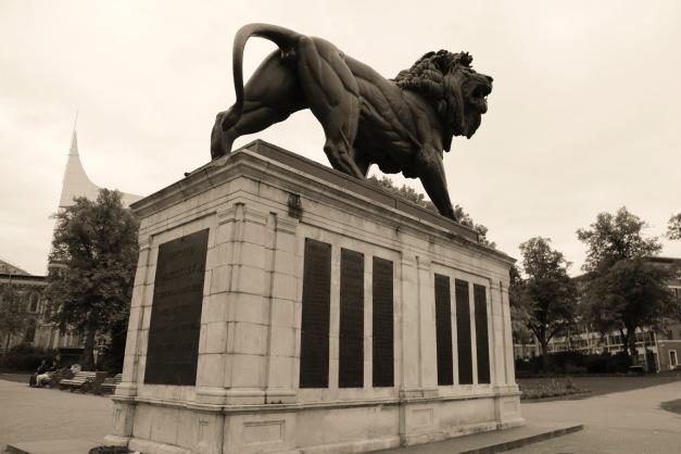 Under the Lion